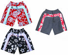 Mens Red Surf Skate Flower Swim Board Sport Swimming Designer Trunks Shorts