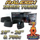 "Genuine Raleigh Rubber Inner Tube 11"" - 27"" & 700c ALL"