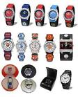 FOOTBALL - WATCH - Boys/Youth/Adult/Leather/Mens{Choice of 8 Clubs & 30 Watches}