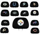 NFL Auto Head Rest Covers {Pair} Car Seat Headrest - Pick Team on eBay
