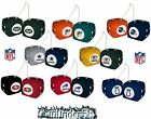 NFL Fuzzy Dice Team Logo Colors Auto Car Truck - Pick Team