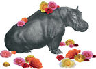 JOHN MURPHY - HIPPO ART PRINT WITH VARIETY OF FRAME OPTIONS OR AS GICLEE CANVAS