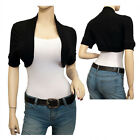 Jr Plus Size Cotton Cropped Bolero Shrug