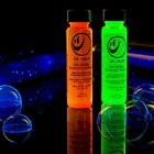 Set of 2 Tekno Bubbles 1 oz bottles - Bubble that Glow Under Black Light, Rave