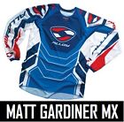 ALLOY MOTOCROSS MX CYCLING JERSEY TOP ENDURO PATRIOT RED BLUE new ALL SIZES