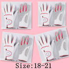 1X Pair Ladies Left/Right  Hand Soft Leather Golf Gloves No:18-21 K0098