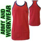 MUSCLE VEST KING SIZE - TWO 2 TONE BIG MENS SLEEVELESS ATHLETIC GYM  TOP FIT NEW