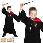 Deluxe Harry Potter Robe Girls/Boys Fancy Dress Book Week Costume Kids Outfit