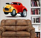 1930's Hot Rod Willys Coupe WALL DECAL MAN CAVE MURAL PRINT 5004