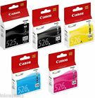Canon Multi Pack 5 x Original OEM Ink Cartridges PGI-525BK, CLI-526BK, C,M & Y