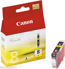 Canon Original OEM Yellow Inkjet Cartridge CLI-8Y, CLI8