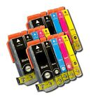 15 Ink Cartridges Compatible With Canon PGI-5BK, CLI-8B, CLI-8C, CLI-8M, CLI-8Y