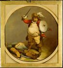 Falstaff With Body Hotspur Philippe Jacques De Loutherbourg 1786 Repro Art Photo