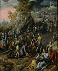 Christ Carrying Cross Joachim Beuckelaer 1562-Art Photo /Poster Repro Print Ma