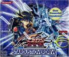 Yu-gi-oh Stardust Overdrive Rares Single or Playsets Mint Deck Card Selection