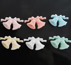 30x Mini Bell Flat back Resin Buttons Scrapbooking DIY Kid's Crafts Lots JOB011