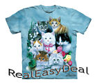 "Child CAT Collage The Mountain T Shirt ""Kittens"" Sizes From 4 -14 Years 15-1172"