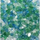 "Emerald City 1/4"" 1-120 lbs Fireglass Fire Glass Fire Pit Fireplace Crystals Log"