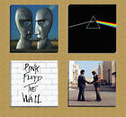 Pink Floyd Album Covers Collection Of Four Limited Edition Giclee Canvas Picture