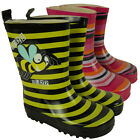 Childrens Boys Girls Infants Wellington Boots Rain Snow Winter Wellies Size 4-12