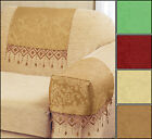 Lana Damask Arm Caps And Chair Backs Range - Four Colours Available