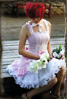 KP1, LOLITA gothic COSPLAY PINK DRESS ONE PIECE