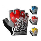 New Fashion Cool outdoor cycling bike bicycle Sports Half Finger Glove 3 Color