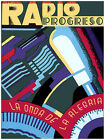 816.Radio Progreso Wall Art Decoration POSTER.Graphics to decorate home office.