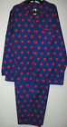 Joe Boxer Purple Winter Flannel Pajamas Womens Plus Size 1X 2X 3X Sleepwear Nwt