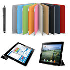 Magnetic Smart Cover & Back Case for New Apple iPad 4 & iPad 3 2 with Sleep Wake