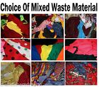 Scrap Arts & Craft Material Rag Rugs Bags Doll Clothes Off Cuts Waste