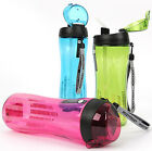 Lock & Lock BPA Free Tritan Outdoor Sport Water Bottle With Silicone Straw