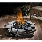 Custom Outdoor Fire Pit - Natural Gas or Propane - 60,000 BTU - Stainless Steel