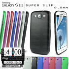 0.5mm SUPER SLIM ULTRA THIN CLEAR HARD CASE COVER FOR SAMSUNG GALAXY S3 i9300