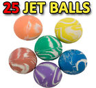 Bouncy Balls Rubber Bouncing Colourful Patterned Super Jet Ball Kids Party Gifts