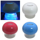 MINI AIR PURIFIER GLOBE COLOUR CHANGING LED LIGHT USB OR MAINS + 3 SCENTED OILS