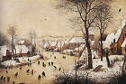 Art Photo Print - Brueghel Jr Skaters - Pieter Bruegel 1525 1569
