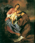 Art Photo Print - Vision Of St Anthony - Anthony Van Dyck 1599 1641