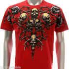 a35r M L XL XXL Artful T-shirt Tattoo Skull Indie Rose Demon Ghost Cross dgk mma