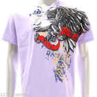 a56v M L XL XXL Artful T-shirt Tattoo Eagle Rock Fashion Demon Skull Indie Punk