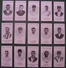 County Cricketers Reproduction Cards Sets Taddy (1907) Nostalgia Reprints