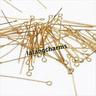 New Mixed Jewelry Making Findings Eye Head Pins Free Shipping Fee 32mm
