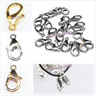 Wholesale Plated 5 Colors Alloy Lobster Clasps Findings For Jewellry Making