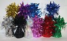 12 X helium balloon weights foil tassle cone weddings parties engagement etc