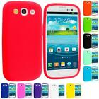 Silicone Rubber Gel Color Skin Case for Samsung Galaxy S III S3 i9300 Phone