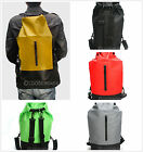 Colors Outdoor Waterproof Dry Backpack Bag With Zipper For Off-Road Water Sports