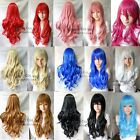 Fashion Long Wavy Curls Wig New Cosplay Party Wigs Hair