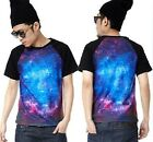weilin PREMIUM FASHION GALAXY COSMIC UNIVERSE ILLUSION PATTERN T-Shirts NO#11