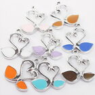 Assorted Patterned Goose/Umbrella/XMS Tree Charms Pendants Enamelled Colors New