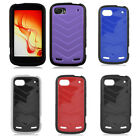 Rugged Softgrip Hard Cover Gel Case For ZTE Warp 2 Sequent N861 Accessory